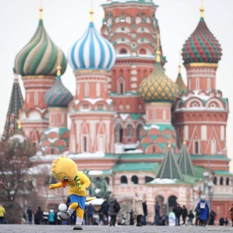 Canarinho na Rússia para Copa do Mundo 2018