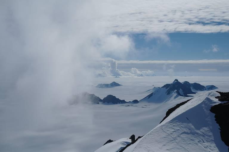 Gelo na Antártida