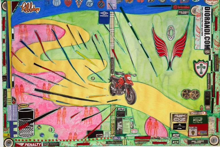 'Ducatti' (2012), de Leda Catunda