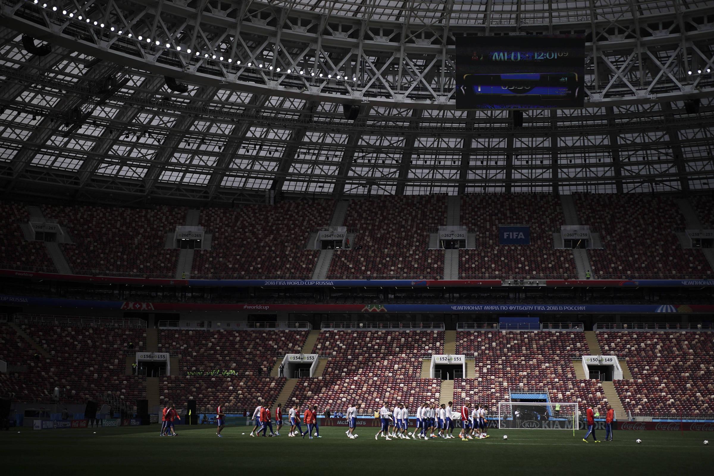 43e68e55a Copa na Rússia começa com pressão política e equilíbrio em campo -  14 06 2018 - Esporte - Folha
