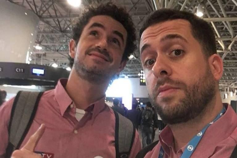 Felipe Andreoli e Maurício Meirelles