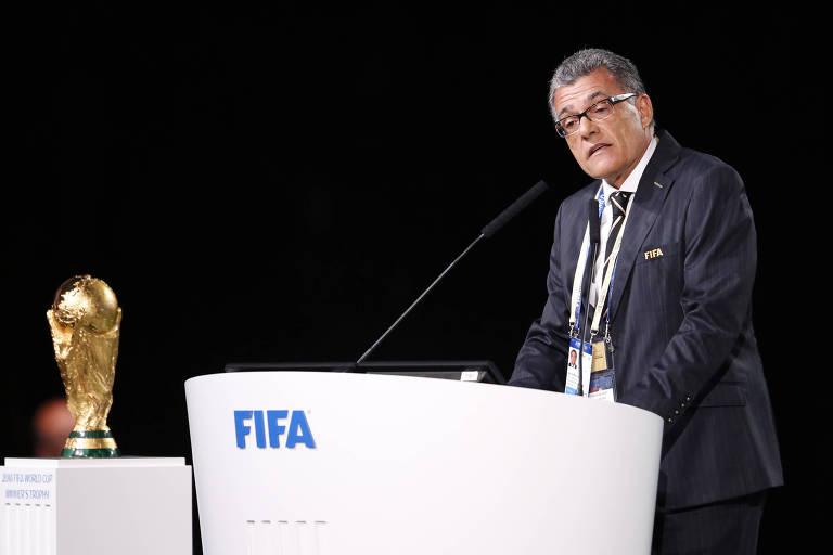 Fernando Sarney durante 68º Congresso da Fifa, na quarta (14), em Moscou