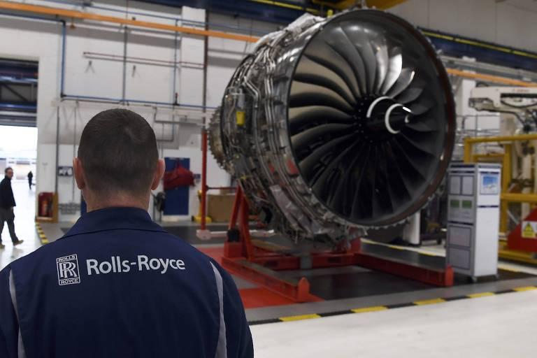 Turbina da Rolls-Royce para Airbus A350