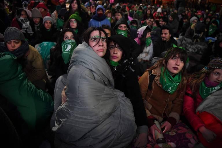 Votação do aborto na Argentina