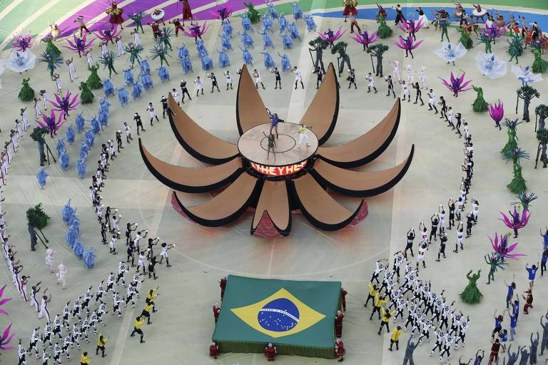 Cerimônia da Abertura de Copas do passado