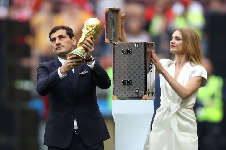 Imagens do dia na Copa 2018