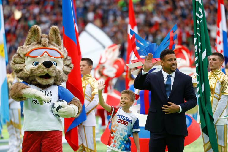 Cerimônia de abertura da Copa do Mundo da Rússia