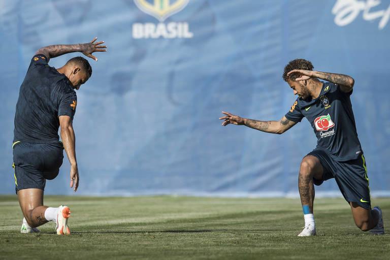 Seleção brasileira treina nesta quinta-feira