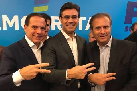 Doria escolhe deputado Rodrigo Garcia para vice