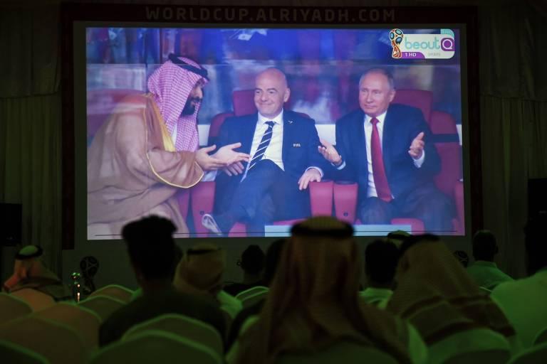 Rússia x Arábia Saudita