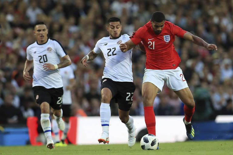 Costa Rica perde lateral às vésperas da estreia na Copa do Mundo
