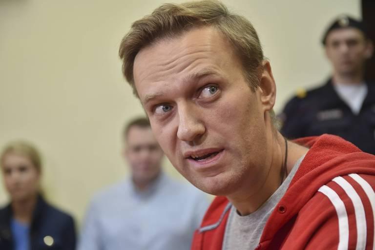 Em seu perfil no Instagram, ativista russo Alexei Navalni afirmou que governo russo fez melhorias nos centros de detenão do país