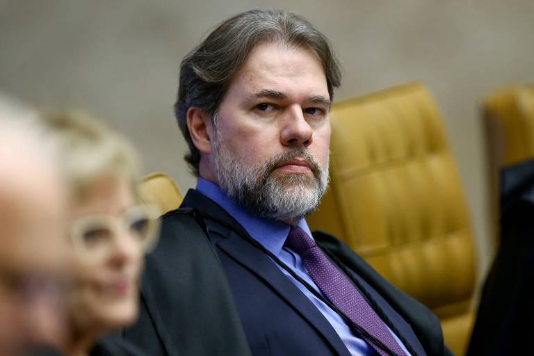 O ministro Dias Toffoli, do Supremo Tribunal Federal
