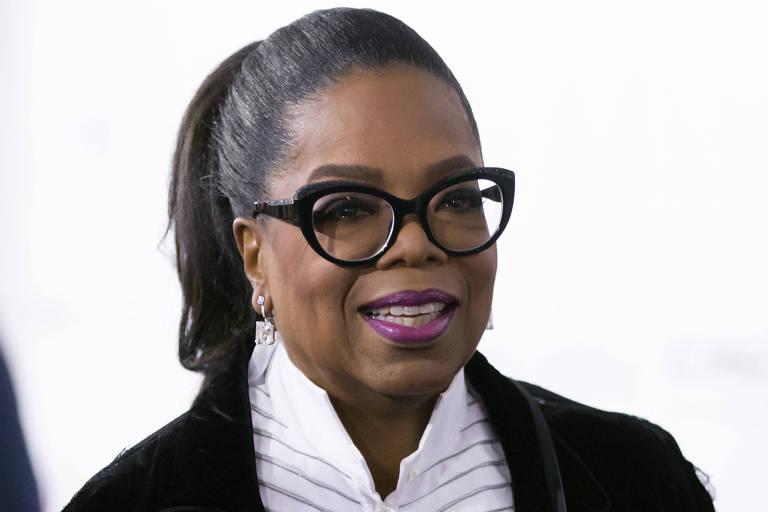 Oprah Winfrey em evento em Vancouver, no Canadá