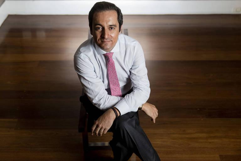 Paulo Lourenço, no Consulado Geral de Portugal, no Jardim América