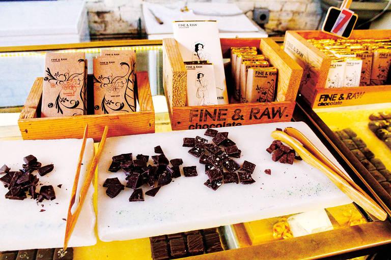 Fine & Raw, loja de chocolates artesanais com preços que cabem no bolso