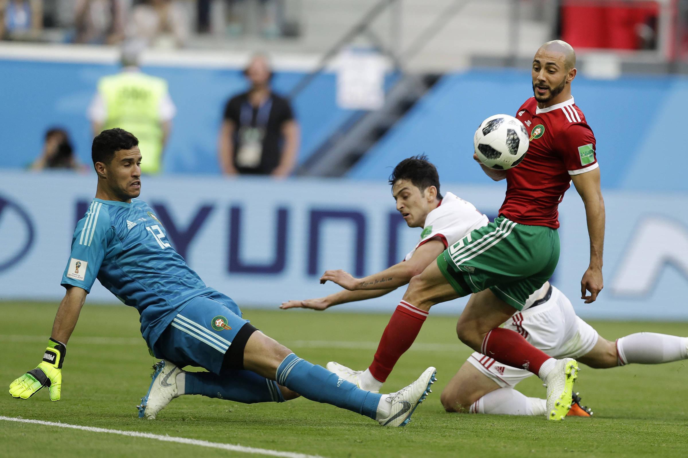 b9adf93c5f4fa Marrocos tem um time importado para jogar a Copa do Mundo - 18 06 2018 -  Esporte - Folha