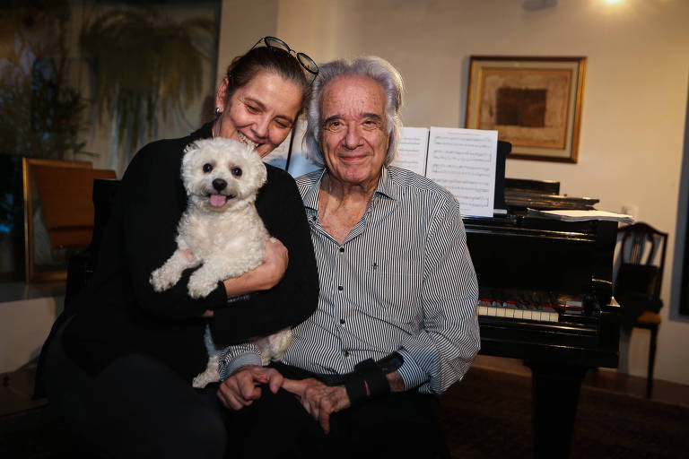 A advogada Carmen Silvia Valio e o marido João Carlos Martins