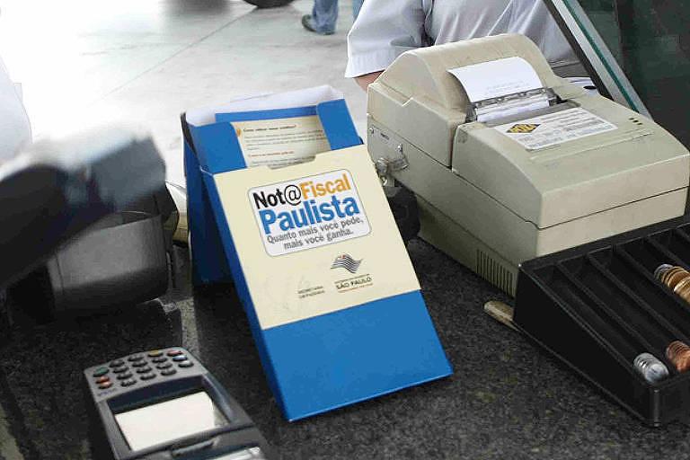 Nota fiscal paulista passa a permitir saques mensais