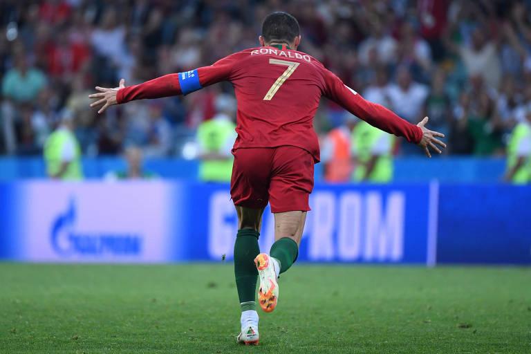 Portugal x Espanha, fase de grupos da Copa de 2018