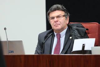 O ministro Luiz Fux