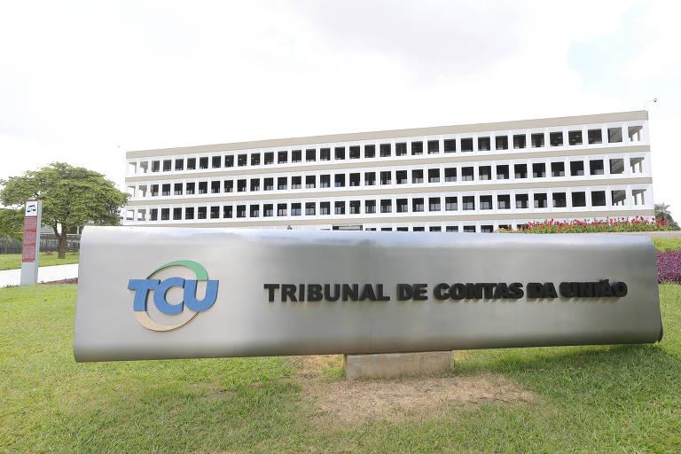 Prédio do TCU (Tribunal de Contas da União), em Brasília