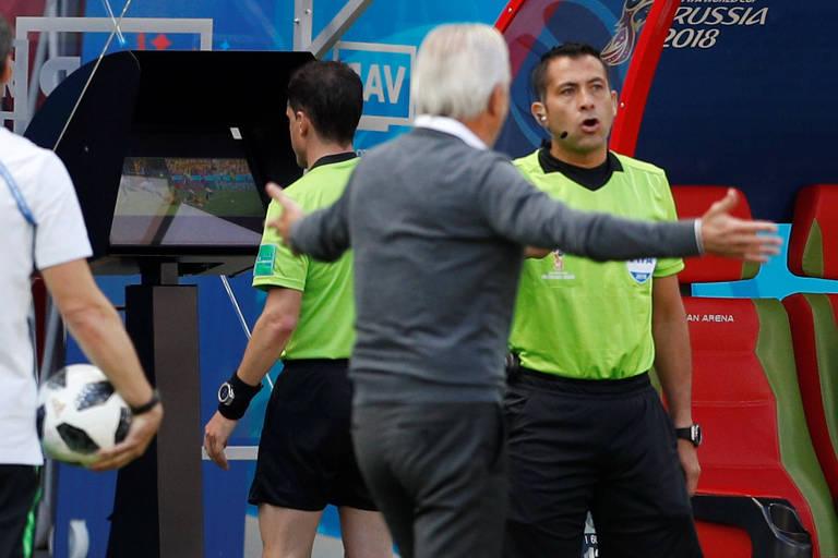 Árbitro de vídeo na Copa da Rússia