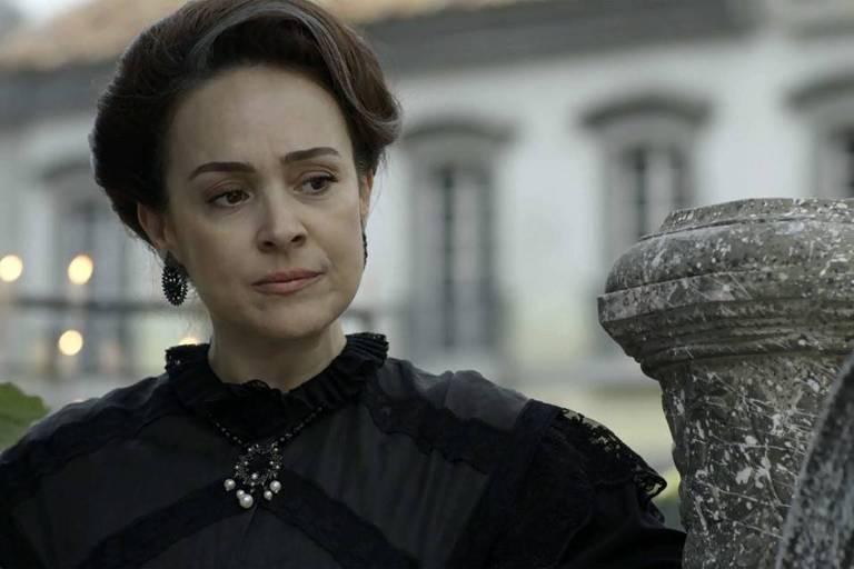Julieta (Gabriela Duarte) em cena de 'Orgulho e Paixão'