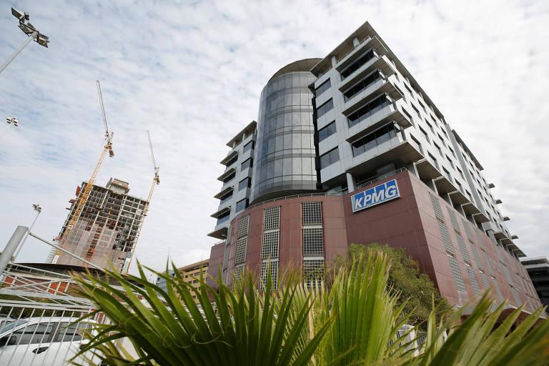 Sede da KPMG em Capa Town, na África do Sul, que investiga caso de corrupção no país no qual a empresa é alvo de investigações