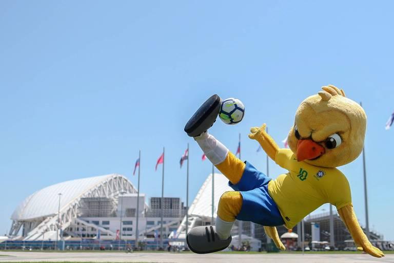 Torcida do Brasil na Copa da Rússia