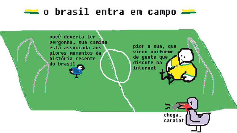 Charges da Copa