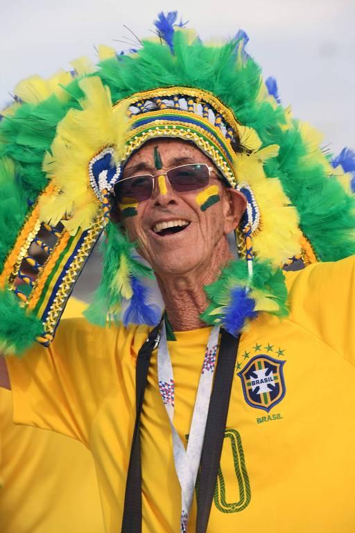 Torcedores que se destacam na Copa do Mundo