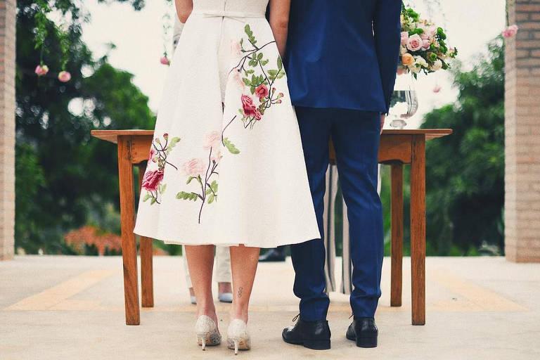 Casamento no civil de Camila e Klebber