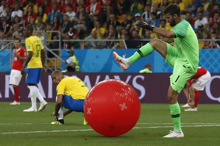 Brasil x Suíça, na Copa do Mundo da Rússia