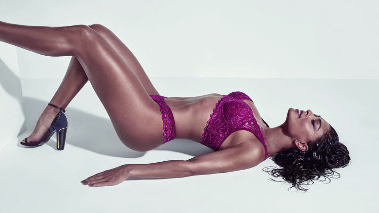Juliana Paes lança coleção de lingerie com a marca Triumph