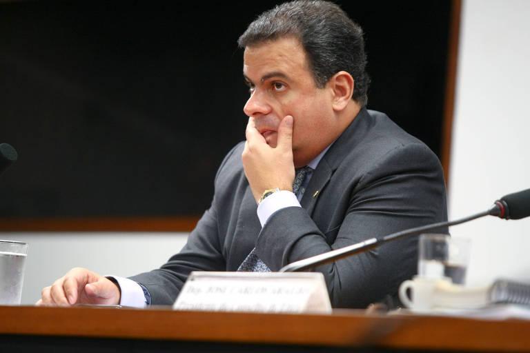 Deputado João Carlos Bacelar (PR-BA), que está sendo investigado sobre suposta violação de sigilo funcional