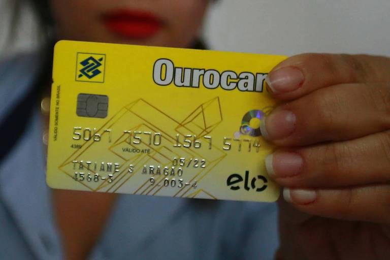 Cartão Ourocard do Banco do Brasil