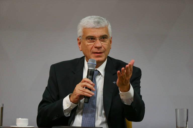 O secretário da Receita Federal, Jorge Rachid, funcionário de carreira da instituição