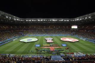 Por 'atmosfera festiva', Fifa muda cerimônia de entrada dos times