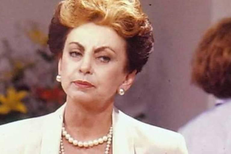 A atriz Beatriz Segall como Odete Roitman em 'Vale Tudo' (1988)