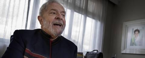 SÃO PAULO, SP, BRASIL, 28.01.2018 - O ex-presidente Luiz Inácio Lula da Silva (PT) durante entrevista exclusiva à Folha, realizado no Instituto Lula, no bairro do Ipiranga, na zona sul de São Paulo (SP). (Foto: Marlene Bergamo/Folhapress) ORG XMIT: AGEN1802282048177076 DIREITOS RESERVADOS. NÃO PUBLICAR SEM AUTORIZAÇÃO DO DETENTOR DOS DIREITOS AUTORAIS E DE IMAGEM