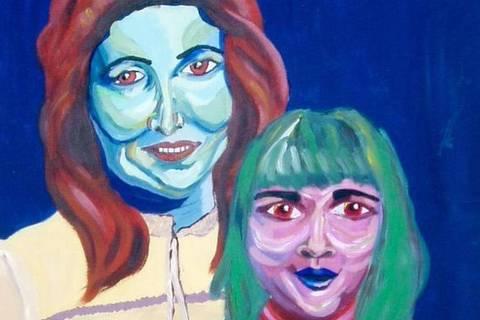 Mama and Babe', de Sarah Irani, foi doado pela própria artista