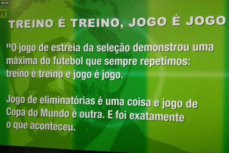 Comentário do ex-presidente Lula lido por escrito em programa esportivo da TVT
