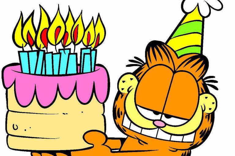 Garfield comemora 40 anos