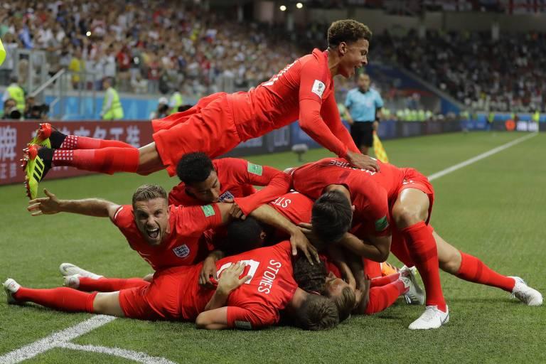 Tunísia x Inglaterra