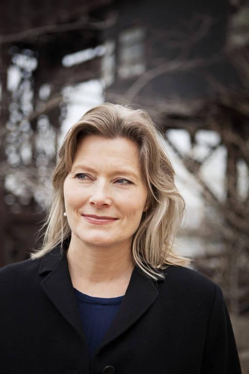 A escritora Jennifer Egan