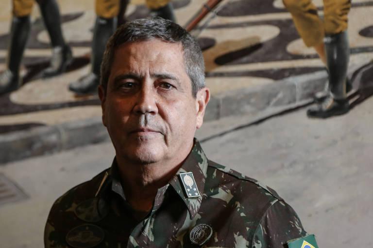 O interventor federal na Segurança Pública do estado do Rio de Janeiro, general Braga Netto