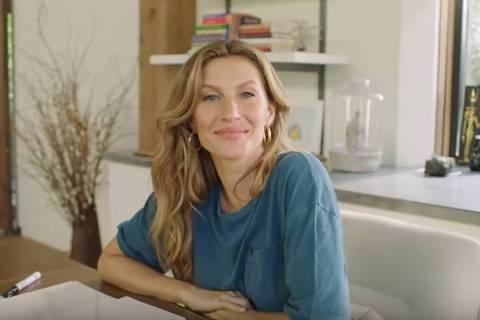 Gisele Bündchen apresenta a casa em que vive em Boston para a revista Vogue americana