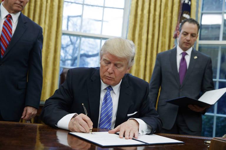Gestão Trump retira EUA de acordos internacionais