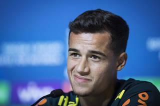 Coutinho minimiza dores de Neymar e diz que Costa Rica vai bater com certeza